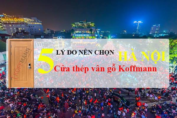 5 lý do nên chọn cửa thép vân gỗ tại Hà Nội Koffmann