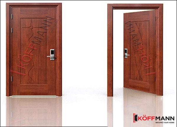 Lý do nên chọn cửa thép vân gỗ