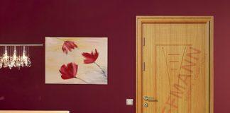 Khám phá công nghệ phun sơn tĩnh điện trong cửa thép vân gỗ
