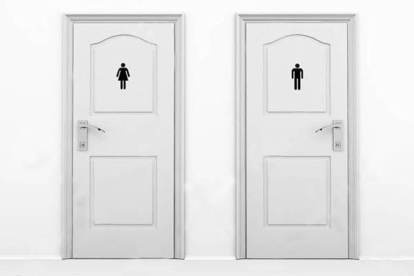 Cửa phòng vệ sinh có nên dùng cửa thép vân gỗ không?