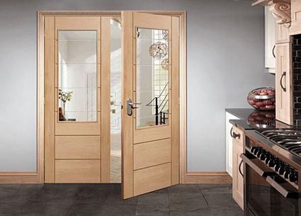 Lựa chọn cửa thép vân gỗ 2 cánh đẹp cho ngôi nhà