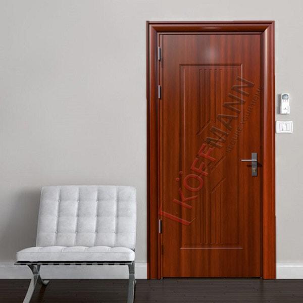 Cách chọn cửa thép vân gỗ đẹp cho cửa thông phòng nhà bạn