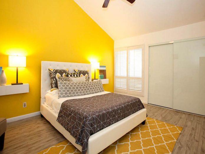 phòng ngủ sơn màu gì