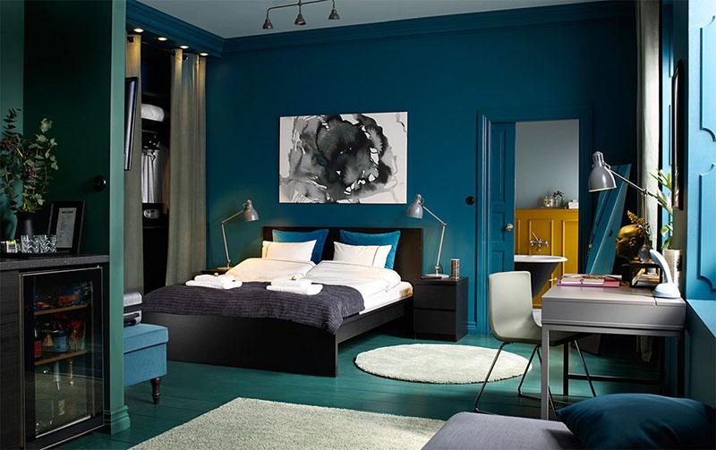 thiết kế phòng ngủ màu gì
