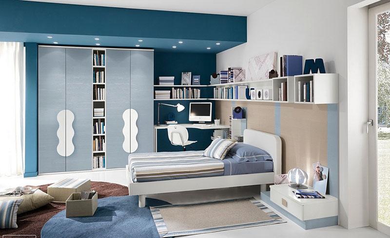 không gian phòng ngủ gọn gàng