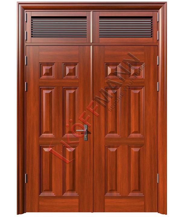 cửa thép vân gỗ Hà Nội