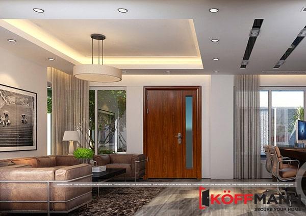 Bạn có nên chọn mua cửa thép vân gỗ Hàn Quốc – cửa thép vân gỗ Koffmann