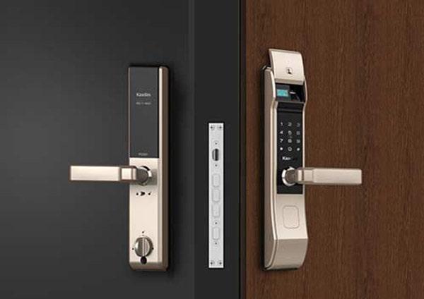 Khóa cửa nào thích hợp cho cửa thép vân gỗ