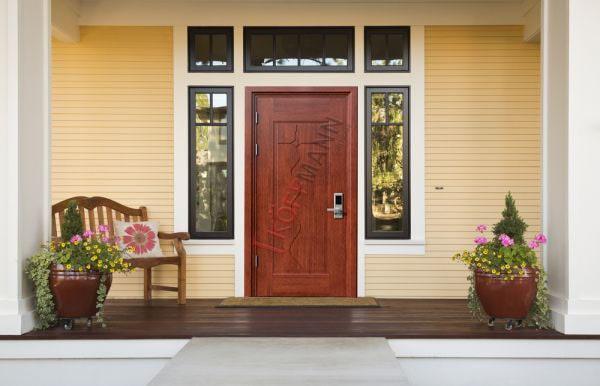 Kích thước cửa chính phù hợp với tuổi của gia chủ