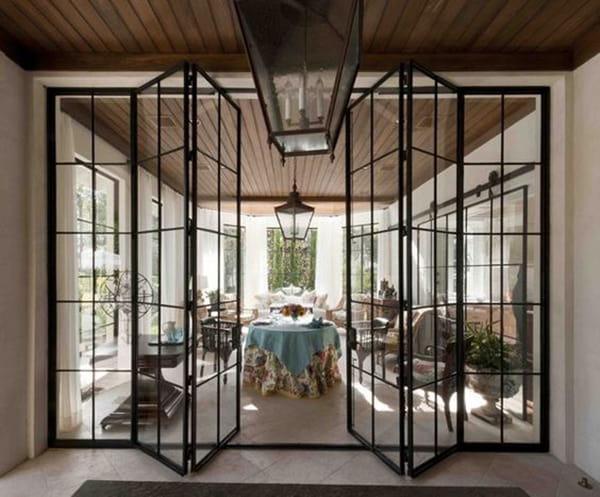 Các mẫu cửa sắt 4 cánh hiện đại cho ngôi nhà đẹp