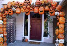 cách trang trí halloween rùng rợn