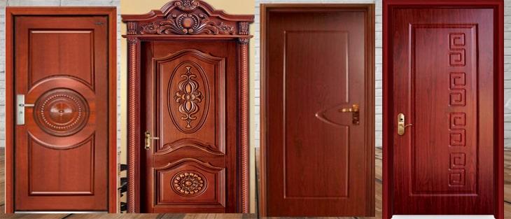 Những mẫu cửa gỗ 1 cánh đẹp có thể bạn quan tâm