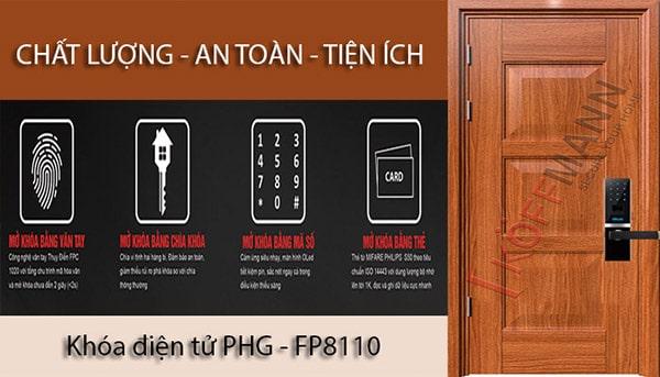 Lựa chọn mẫu khóa cửa vân tay cho cửa thép vân gỗ