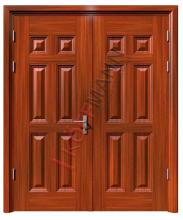 Kích thước cửa chính 2 cánh phù hợp cho gia đình bạn