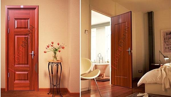 Công nghệ sơn tĩnh điện Hà Nội dùng trong cửa thép giả gỗ
